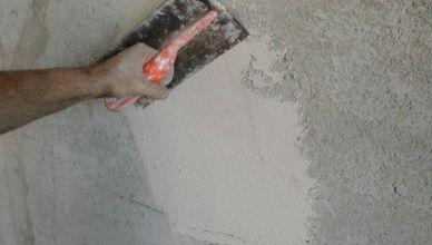 Применение цементно-известковой штукатурки