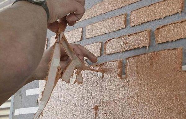 Как сделать декоративные кирпичики своими руками