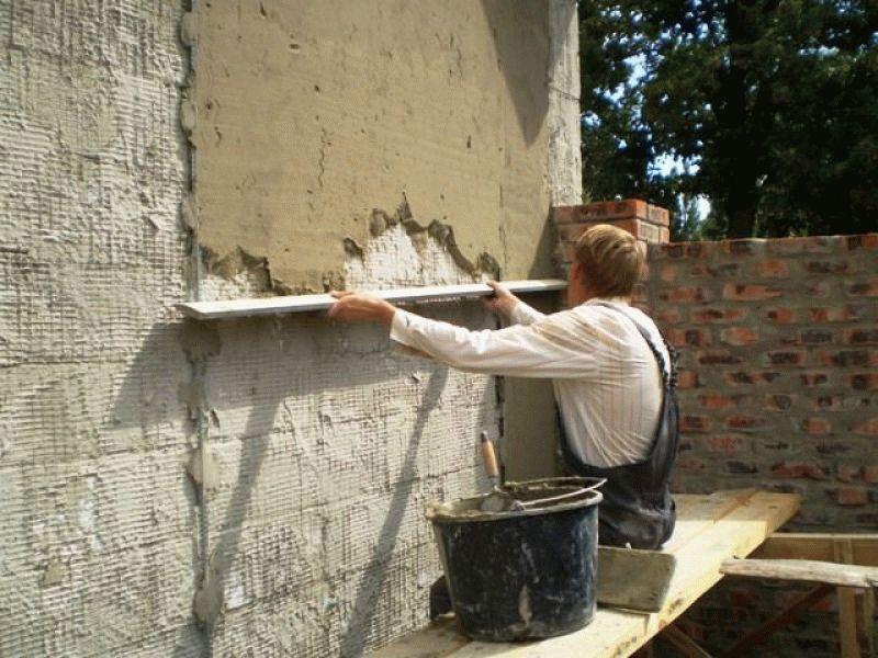 Цементная штукатурка для фасада