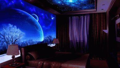 Флуоресцентная краска дизайн интерьера