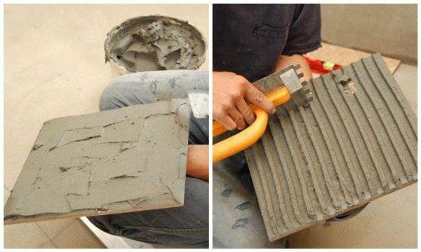 Укладка плитки на пол своими руками: технология монтажа напольного кафеля (видео)