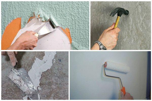 Поэтапная подготовка стены к оштукатуриванию