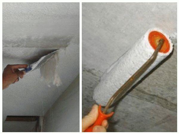 Подготовка потолка к штукатурке