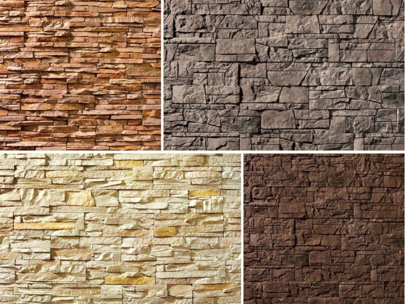 Виды искусственного декоративного камня