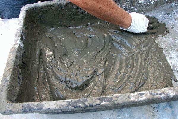 Раствор цементно-песчаный