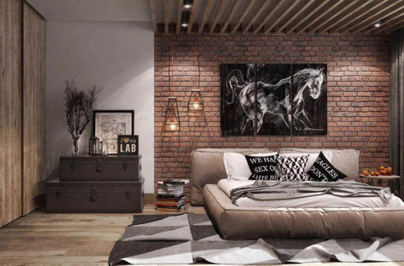 Декорирование спальной комнаты