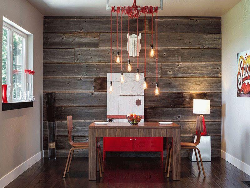 Дизайн интерьера с применением деревянных панелей