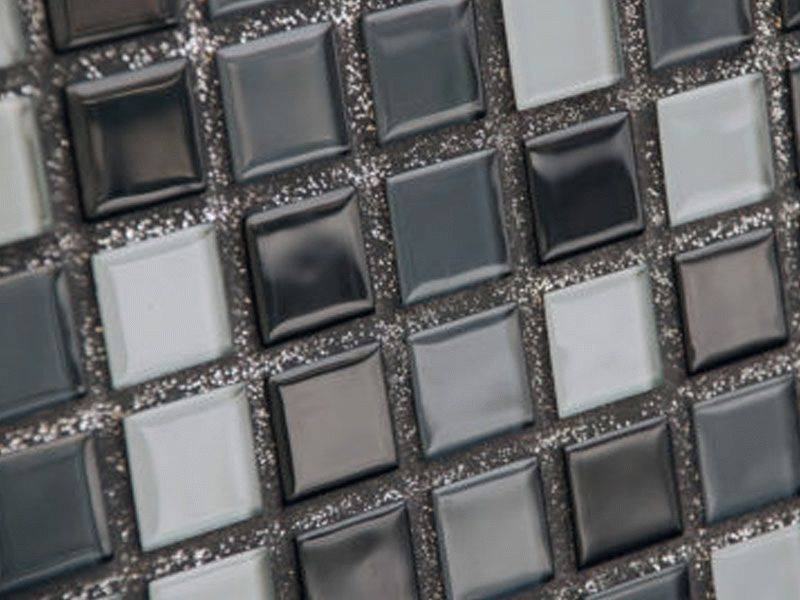 Благодаря декоративным компонентам, входящим в состав затирки, можно получить оригинальную поверхность с необычным эффектом