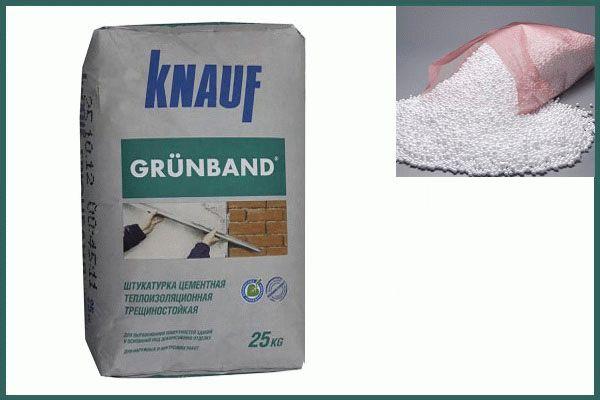Теплая штукатурка Knauf Grűnband