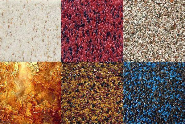 Разновидности мозаичный штукатурки