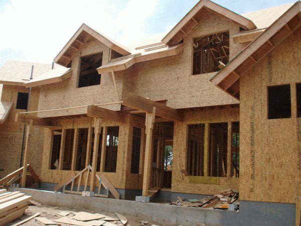Применение ОСБ плит для наружной обшивки зданий