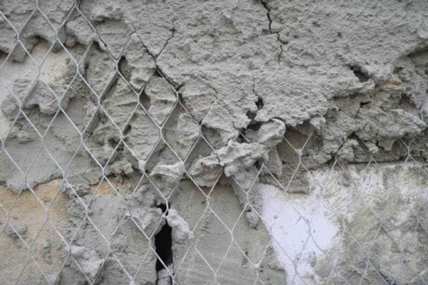 Установка армирующей сетки