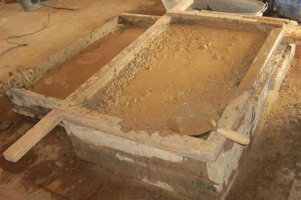 Раствор глиняной штукатурки