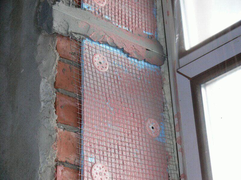 Теплоизоляция откосов пластиковых окон