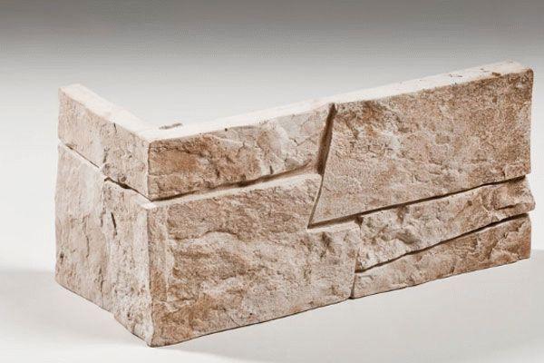 Угловой элемент декоративного камня