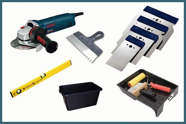 Инструменты для укладки камня