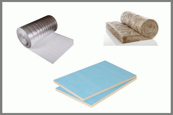 В некоторых случаях используются сразу несколько теплоизоляционных материалов для утепления откосов
