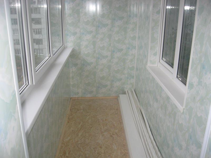 Обшивка балкона внутри своими руками: чем лучше и как правильно обшить (фото)