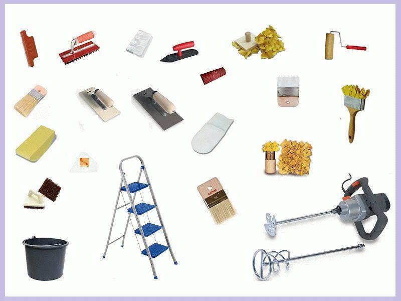 Инструменты для структурной штукатурки