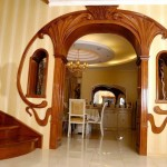 Квадратная арка в квартире