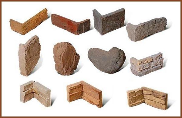 Угловые накладки из декоративного камня