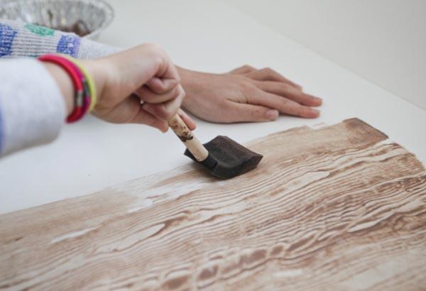 Создание фактуры дерева