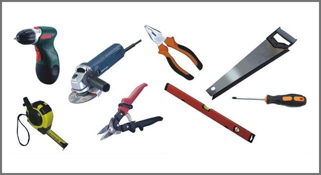 Инструменты, необходимые для установки сайдинга