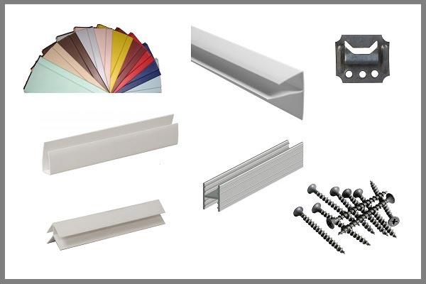 Расходные материалы обшивки балкона