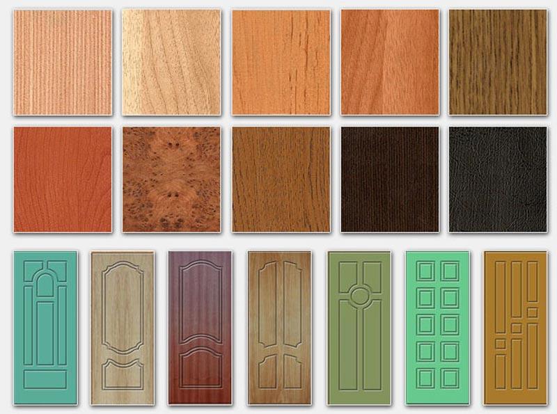 Двери с покрытием из МДФ