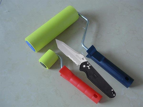 Материал и инструмент для изготовления фактурного валика