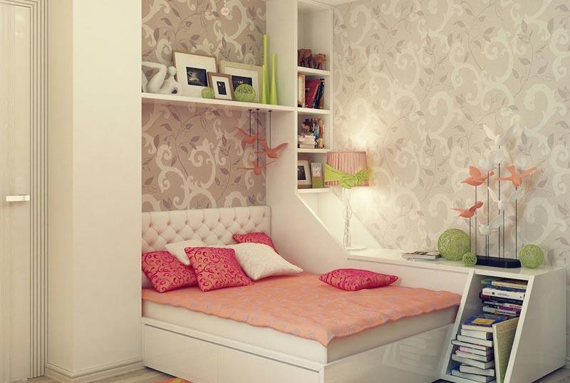 Флизелиновые обои - отличный вариант для отделки подростковой комнаты