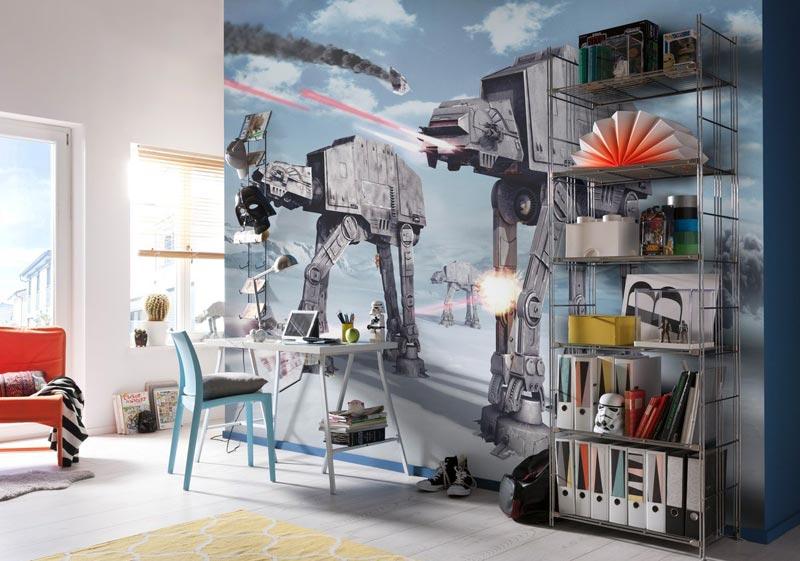 Фотообои - отличный вариант для создания индивидуального стиля в комнате подростка