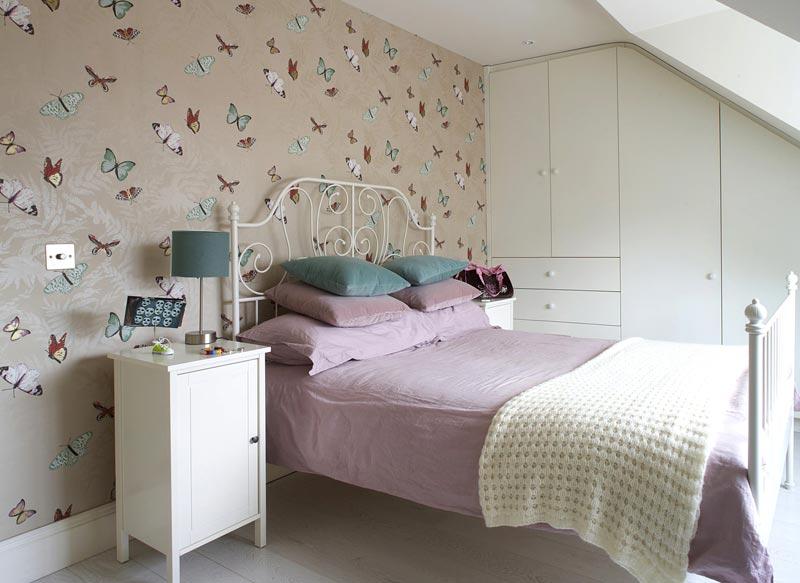 Комната подростка обычно отличается практичностью и спокойной цветовой гаммой