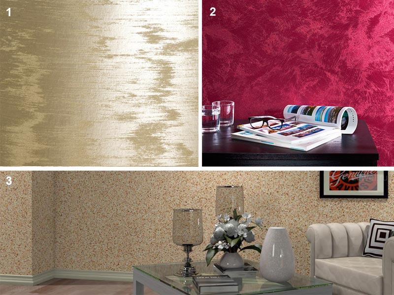 Декоративное окрашивание стен с разным эффектом