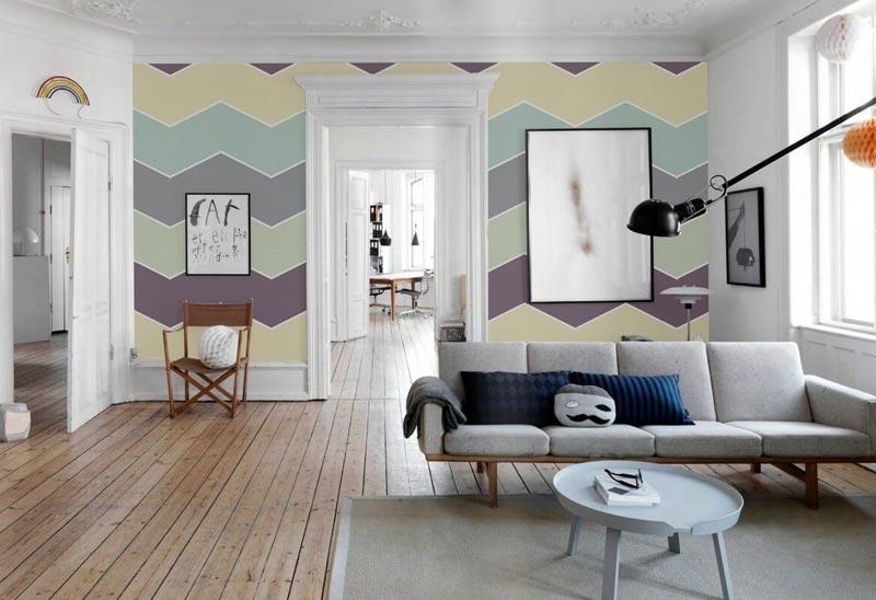 Создание стильного орнамента с помощью краски