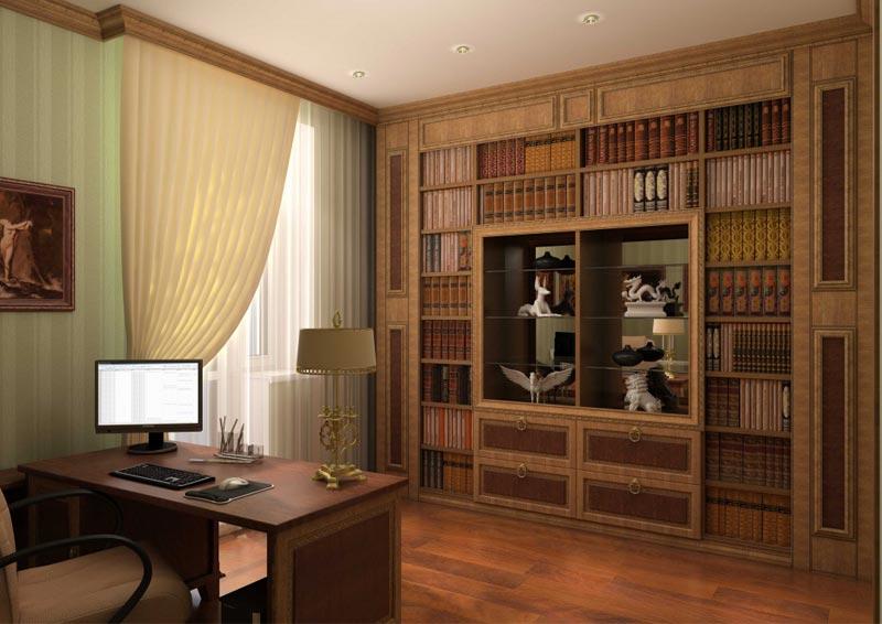 Гармоничное сочетание галтели и мебели