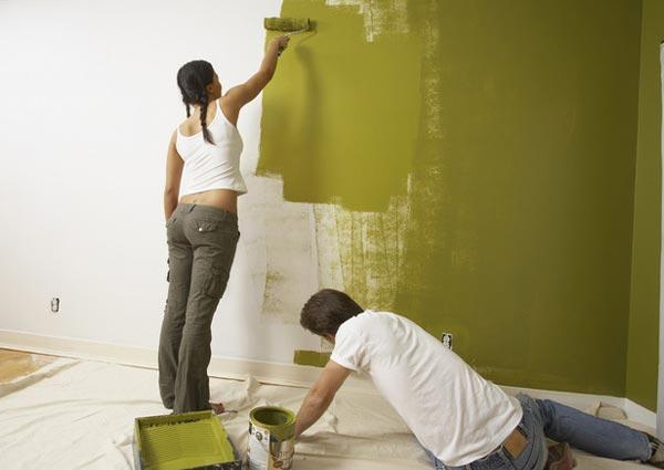 Как покрасить стены в квартире своими руками