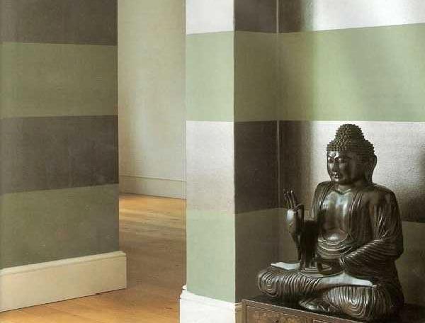 Современные краски для стен позволяют создавать глянцевую или матовую поверхность