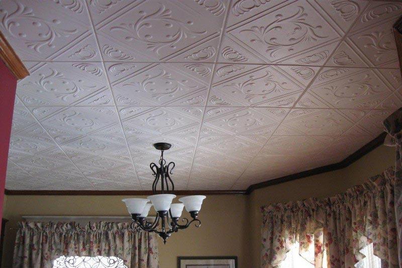 Клеенный потолок