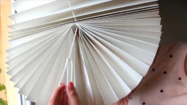 Оформление нижнего края изделия в виде веера