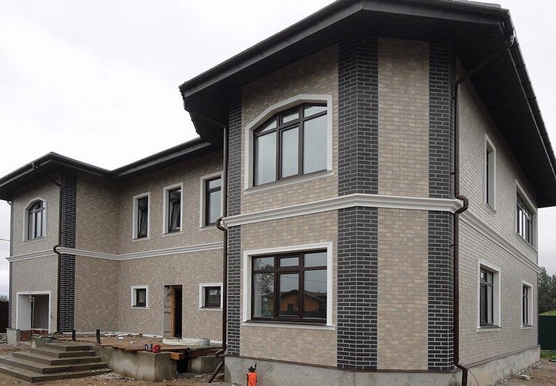 Облицовка фасада плиткой - устойчивость к атмосферным воздействиям и отличный декоративный вид