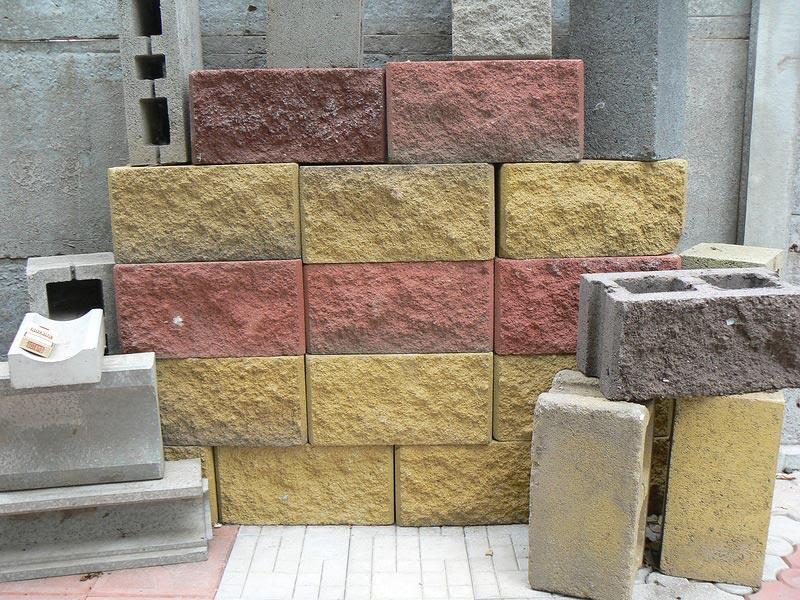 Блоки с декоративной отделкой