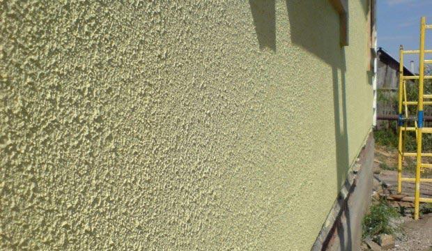 Фактурная фасадная краска