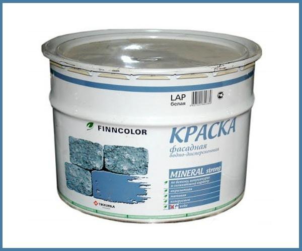 Виниловая краска по бетону Finncolor