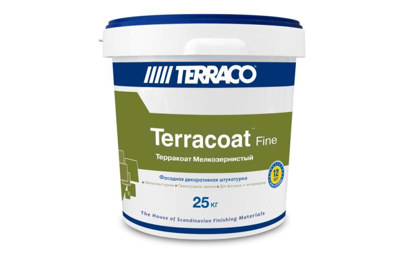 """Фасадная акриловая штукатурка Terracoat Fine """"Шагрень"""""""