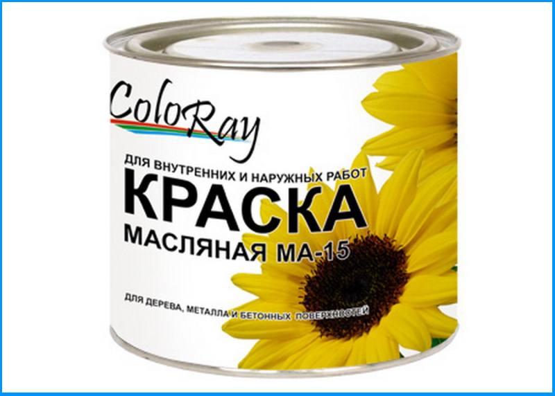 Масляная краска для наружных работ по дереву Coloray