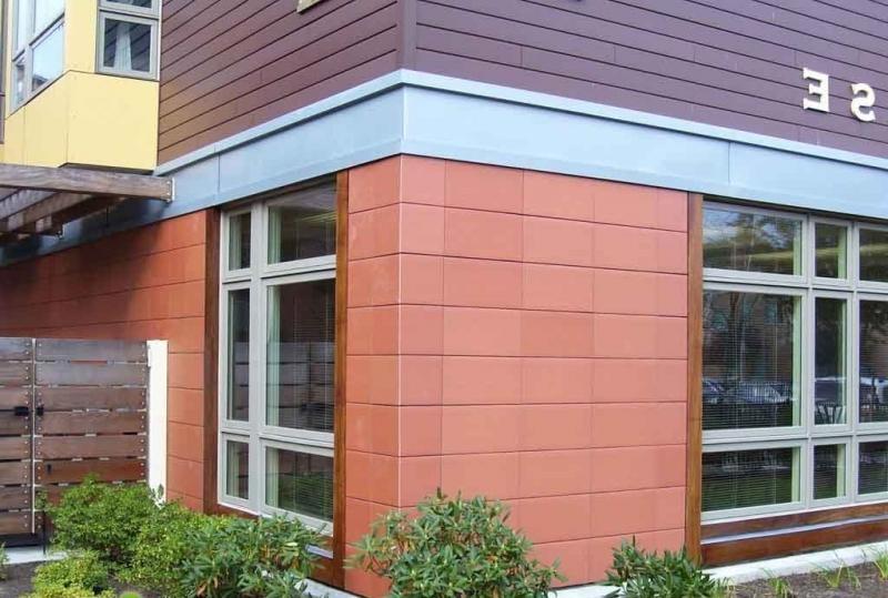 Керамическая облицовочная плитка в отделке фасада
