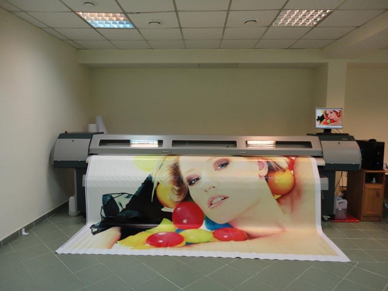 Печать на баннерном материале