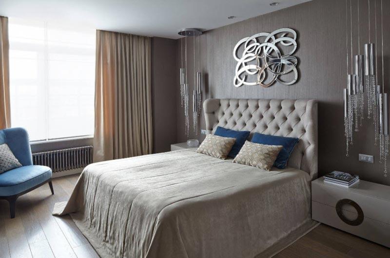 Однотонные обои – это простой способ сделать комнату стильной
