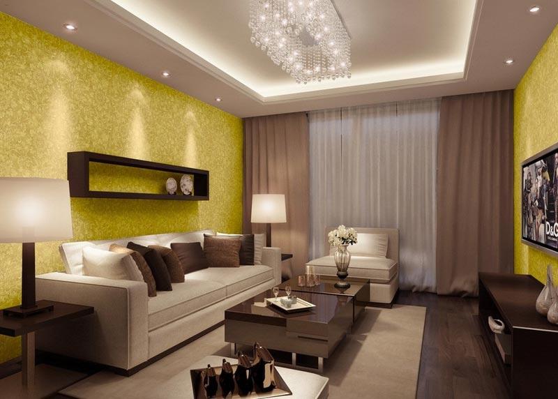 С помощью света можно не только расставить акценты, но и сделать комнату уютнее и просторнее
